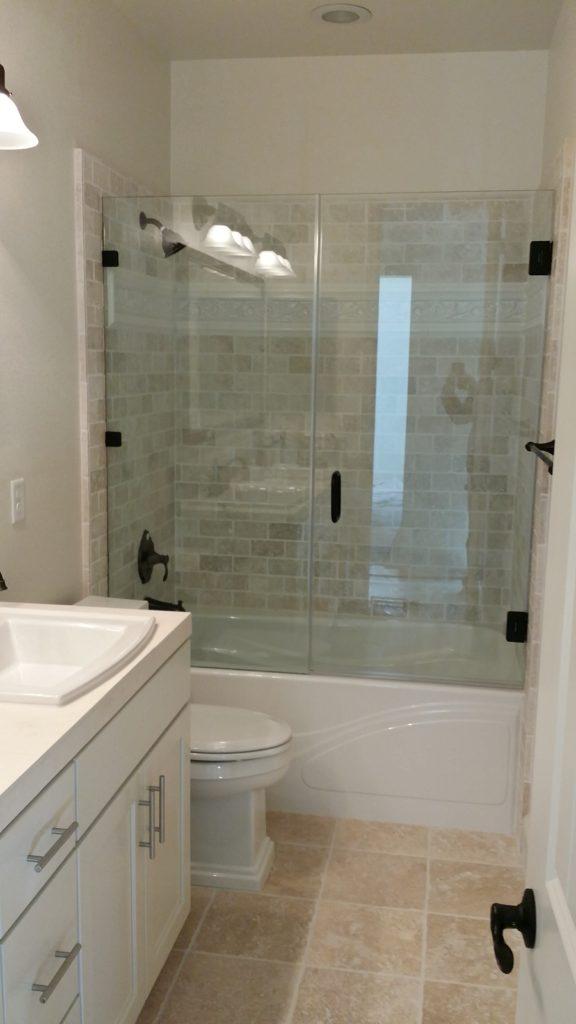 Frameless Glass Bathrub Enclosure